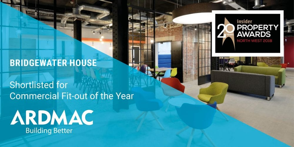 Ardmac shortlisted for NW Insider Property Award