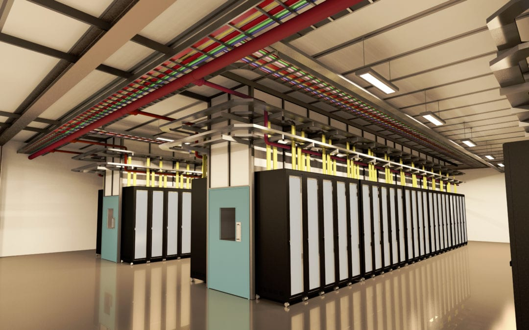 Take a virtual look inside a Data Centre