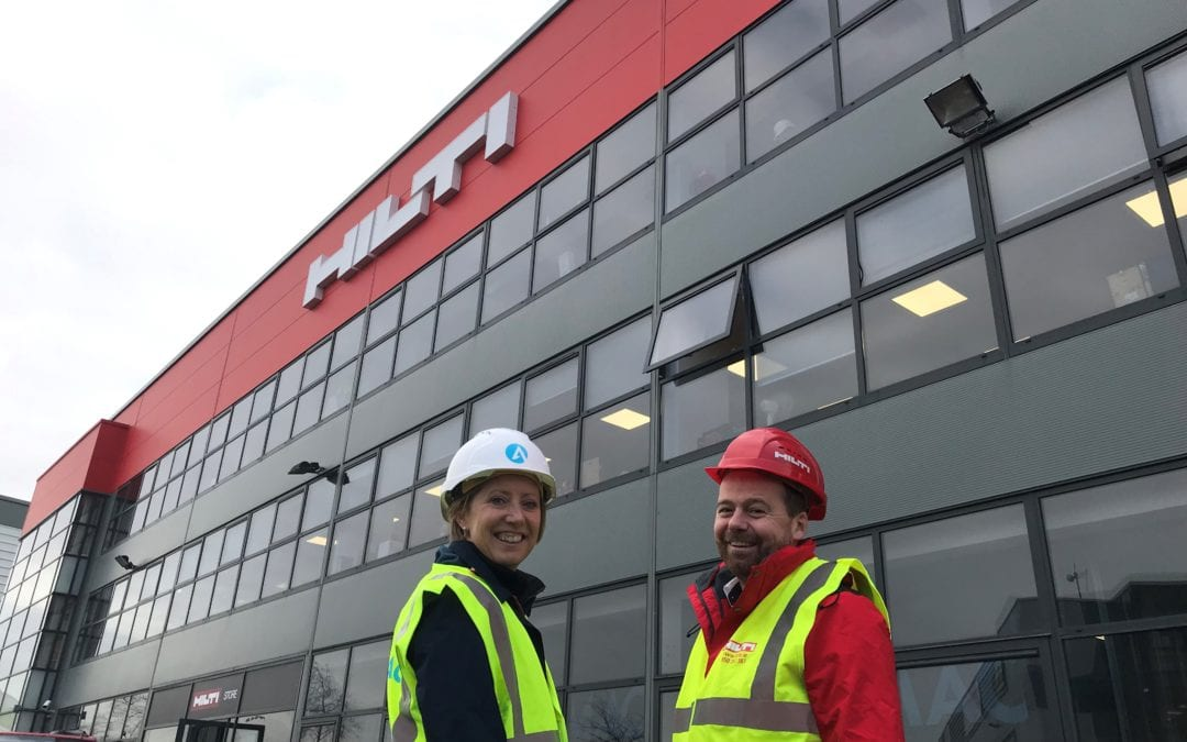 Ardmac awarded Commercial Fit Out of Hilti HQ Finglas
