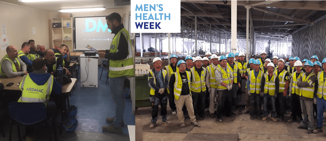 Ardmac supports Men's Health Week 2018