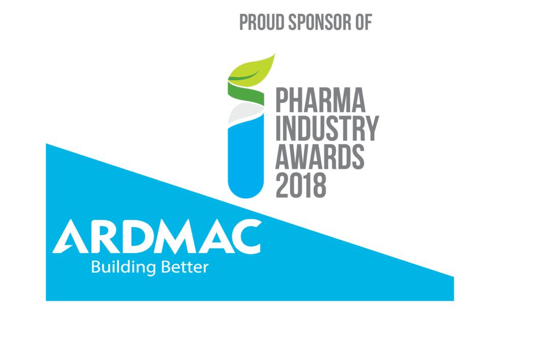 Ardmac Sponsors Pharma Industry Awards 2018