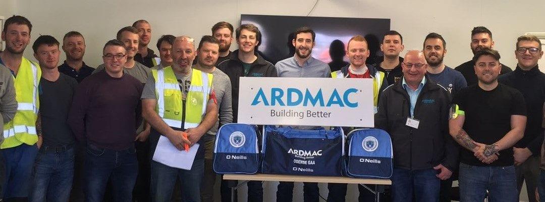 Ardmac sponsors Nordic Championship GAA team