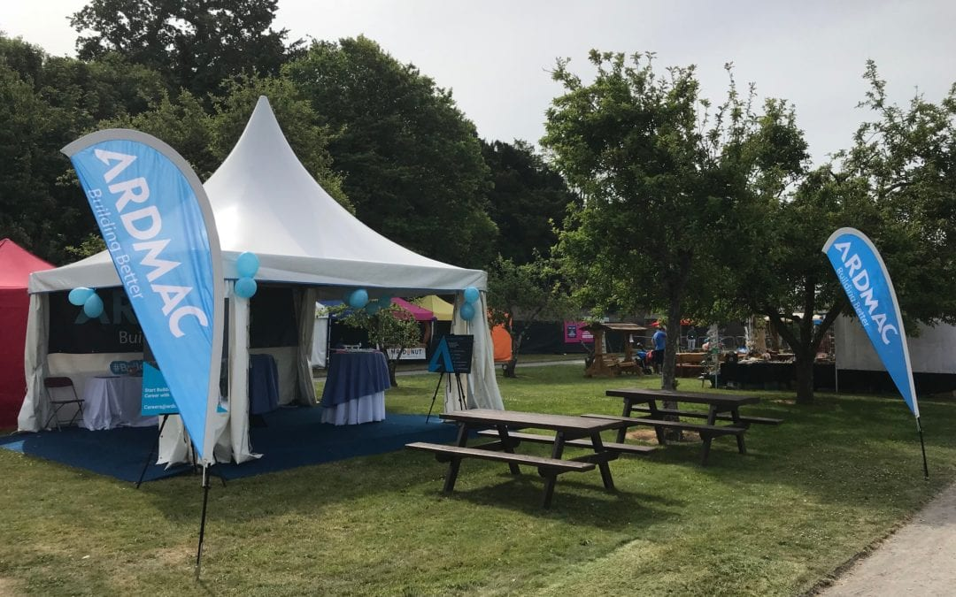 Going to Flavours of Fingal 2018? Visit Ardmac's marquee