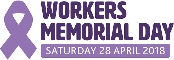 Ardmac supporting Workers Memorial Day 2018