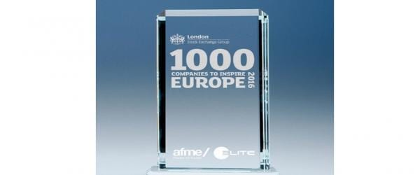 Ardmac Makes '1000 Companies To Inspire Europe' List