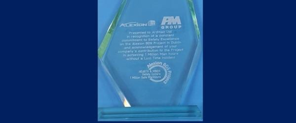 Ardmac receive Safety Recognition Award