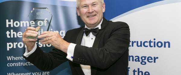 Ardmac's Gerry Shearman Win at CIOB Ireland Awards 2017