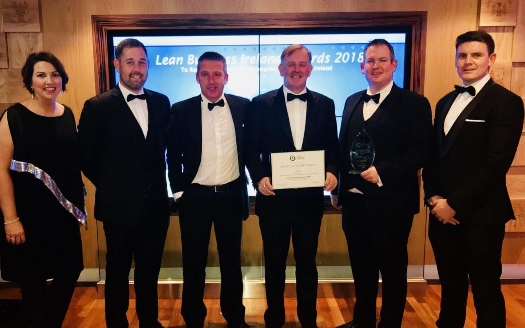 Ardmac win 'Leadership in Lean' at LBI Awards
