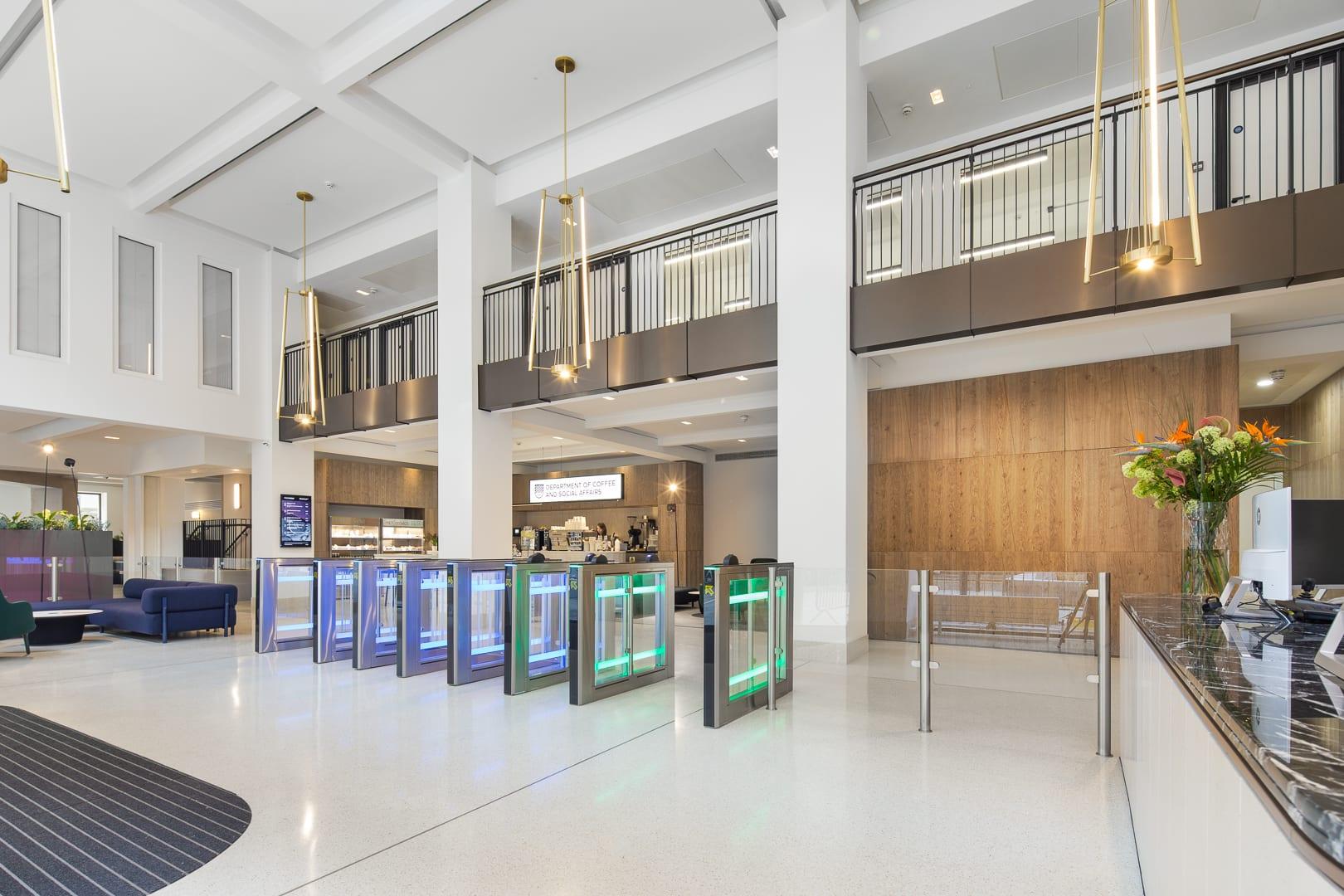 Sunlight house Manchester Ardmac Reception