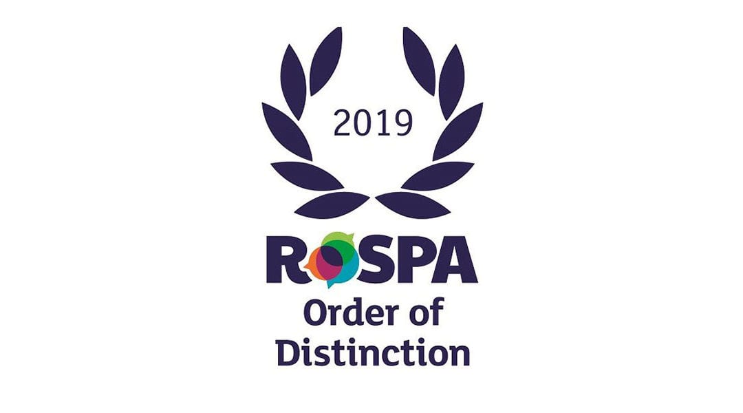Ardmac receives RoSPA Order of Distinction (19 consecutive Golds) Award for health and safety practices