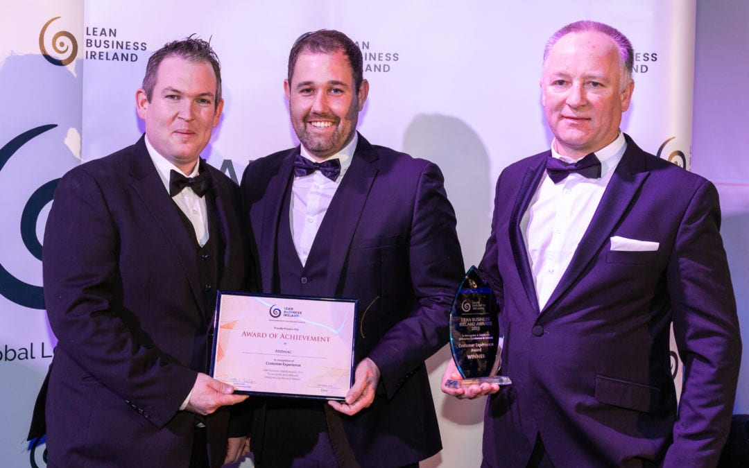 Ardmac named Customer Experience Winners
