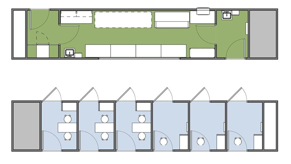 Ardmac-Germfree-HOK-Floor plan for Covid 19 Testing lab