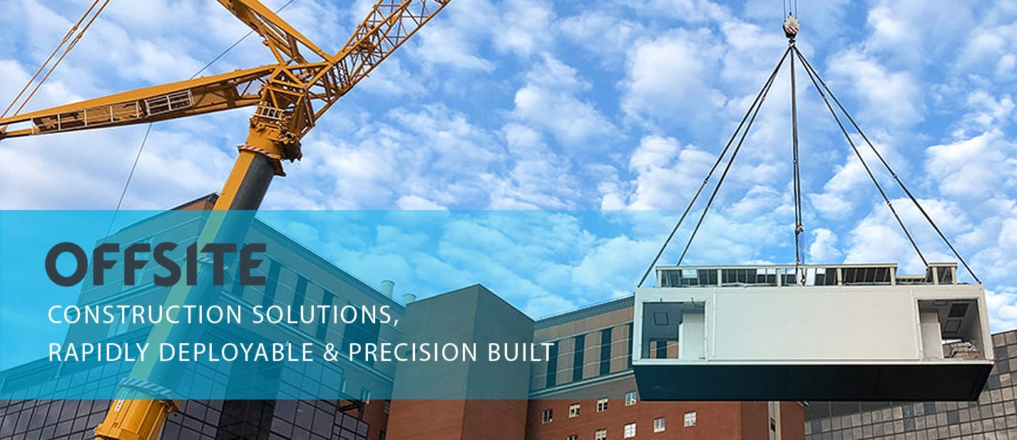 ardmac offsite construction solutions - rapidly deployable and precision built for cleanrooms and data centres in europe