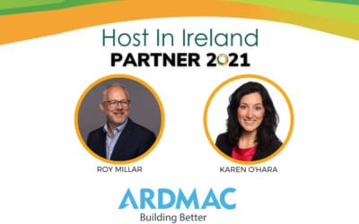 Roy Millar & Karen O'Hara of Ardmac Partner Host in Ireland