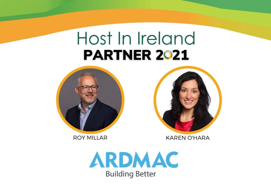 Ardmac are delighted to announce our partnership with Host in Ireland for 2021