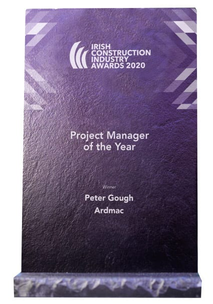 Ardmac - Peter Gough trophy for Project Manager of the Year