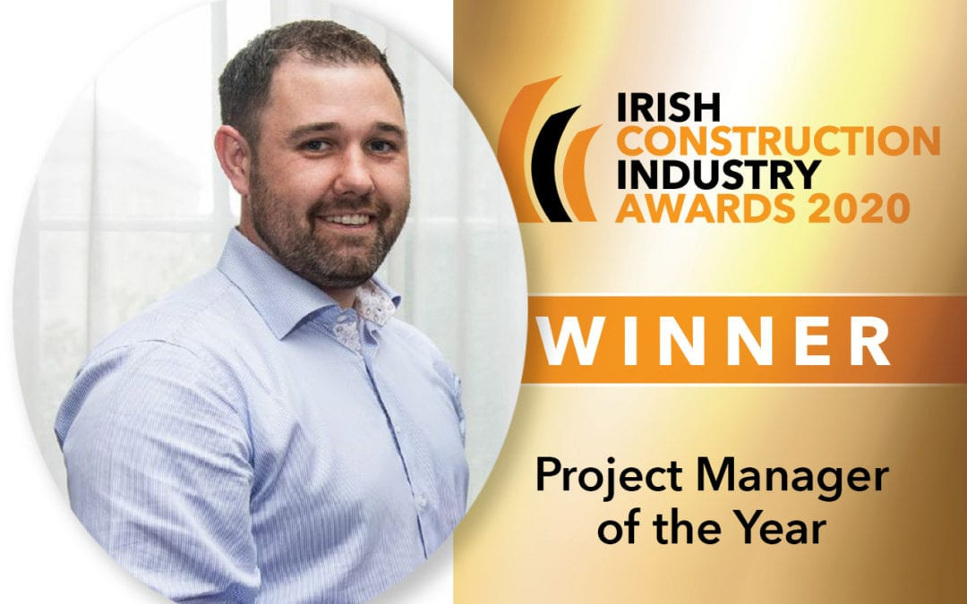 Ardmac's Peter Gough Wins ICI Awards Project Manager of the Year.