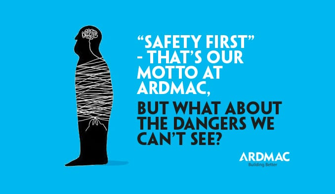 """""""Safety First"""" – That's our motto at Ardmac."""
